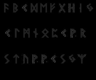 Alfabeto Runico Rune