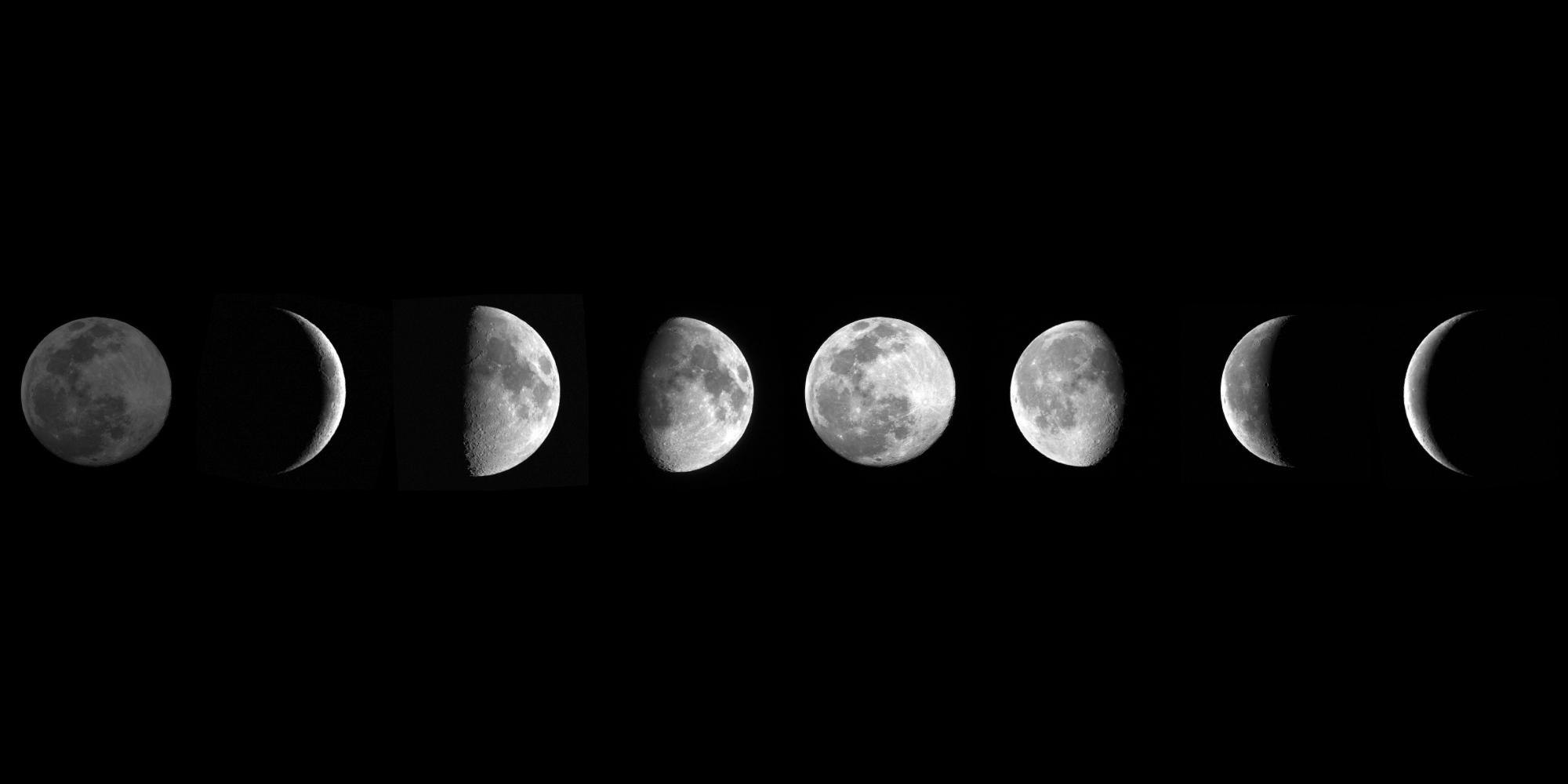 Significato delle 8 Fasi Lunari